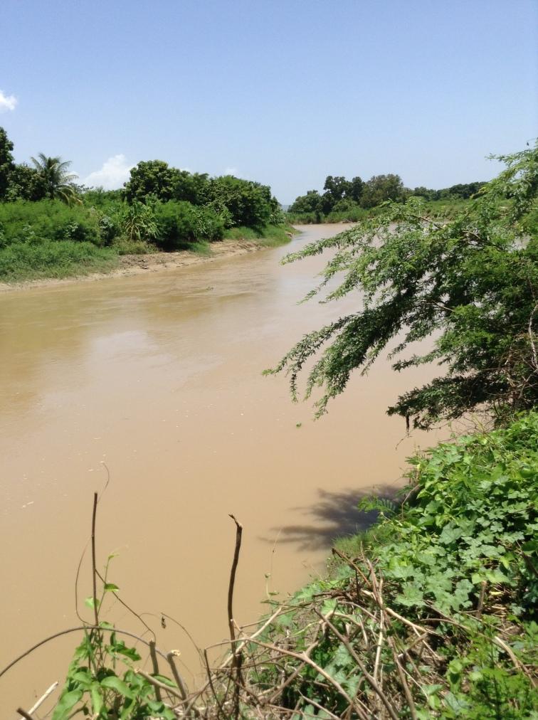 Water source in Grande Saline.
