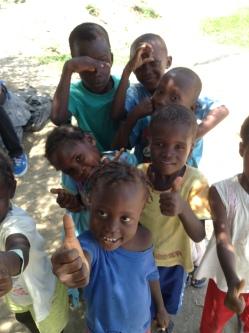 Children in Grande Saline