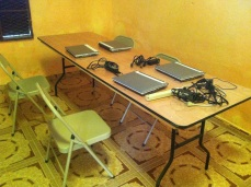 Computers in Cite Soleil