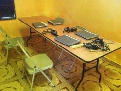 Computers in Cite Soleil