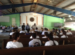 Pastor Vincent explains what life is like in Cite Soleil.