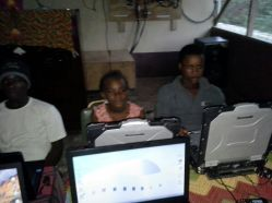 First solar powered computer class in Grande Saline!