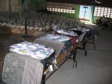 Food distribution.