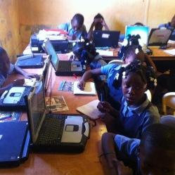 Computer Class in Cite Soleil