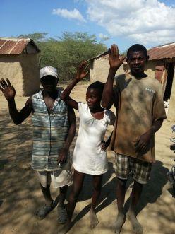 The Farmers: Paul, Minouche and Michel