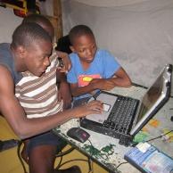 Solar powered laptops