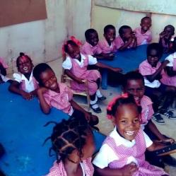 Kindergarten class in Grande Saline